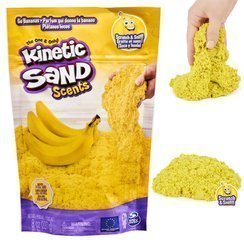 SPIN MASTER Kinetic Sand Smakowite Zapachy 227g - Banan