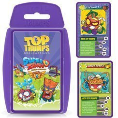 WINNING MOVES Top Trumps Karty Superzings Seria 5
